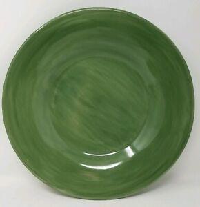 POTTERY-BARN-SAUSALITO-DARK-GREEN-12-3-8-034-DINNER-PLATE