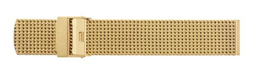 Eichmüller massives 22mm BandOh Edelstahl Milanaise Uhren Armband PVD-vergoldet