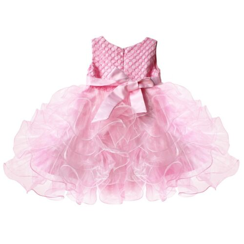Flower Girl Baby Toddler Party Princess Wedding Birthday Tutu Dress Kids Clothes