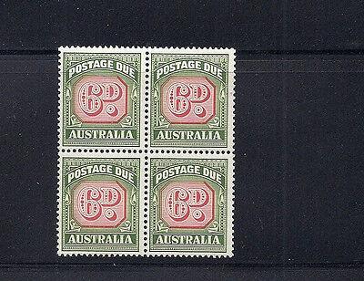 Vf Mnh Block Of 4 Hell Australien 1946-57 Versand Due Sg D125