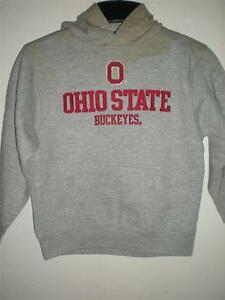 NEW Ohio State Buckeyes Adult Mens Sizes S-M-L-XL-2XL Gray Hoodie