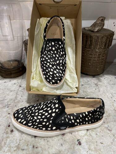 Ugg Australia Soleda Exotic Sneaker Calf Hair Blac