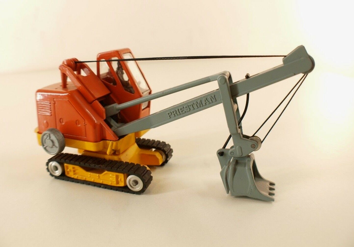 Corgi Major n° 1128 Pelleteuse PRIESThomme CUB Power  Shovel ancien jamais servi  offrant 100%