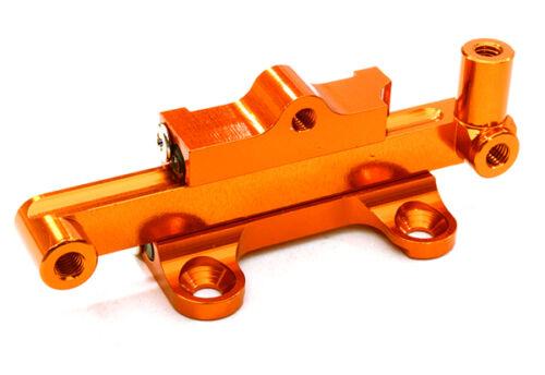 C26957ORANGE Integy Billet Machined Steering Rack /& Bar for Vaterra Twin Hammers