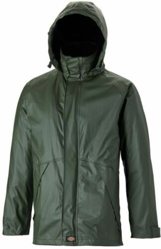 Sizes S-XXXL Dickies Raintite Waterproof Hiking Jacket Green Men/'s Coat