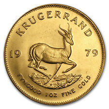 1979 South Africa 1 oz Gold Krugerrand - SKU #88637