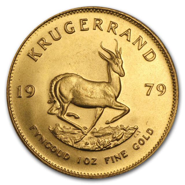 1979 South Africa 1 Oz Gold Krugerrand Sku 88637