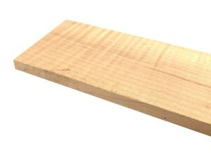 Solo-Pro-Curly-Maple-Grade-AA-Blank-Unslotted-Fingerboard