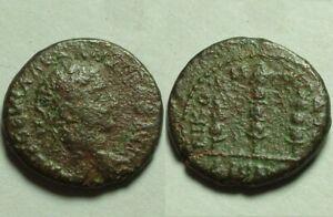 Severus Alexander 222A genuine Ancient Roman Coin Nicaea Bithyna Eagle standards