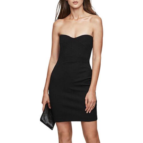 40/% OFFBNWT REISS MIRANDA STRAPLESS BODYCON COCKTAIL PARTY LITTLE BLACK DRESS