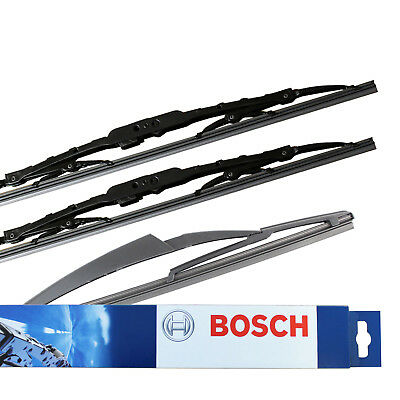 Fits Mini Cooper R50 Hatch Bosch Superplus Front /& Specific Rear Wiper Blades