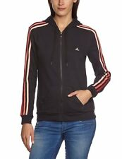 New Woman's ADIDAS HOODED sweatshirt ZIP TRACKSUIT TOP size XS  UK 4-6