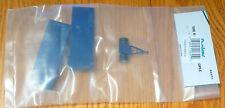 Boley HO #185-20652 Double Flatbeds (1 Each Single & Dual Axle) w/Dolly  -- blue