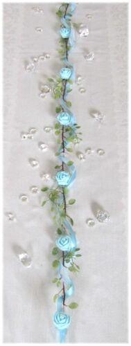 Taufe.. Tischgirlande in hellblau Tischdeko Tischdekoration Hochzeit
