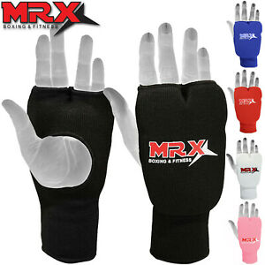 Karate-Mitts-Elasticated-Padded-Martial-Arts-Boxing-Training-Gloves-MMA
