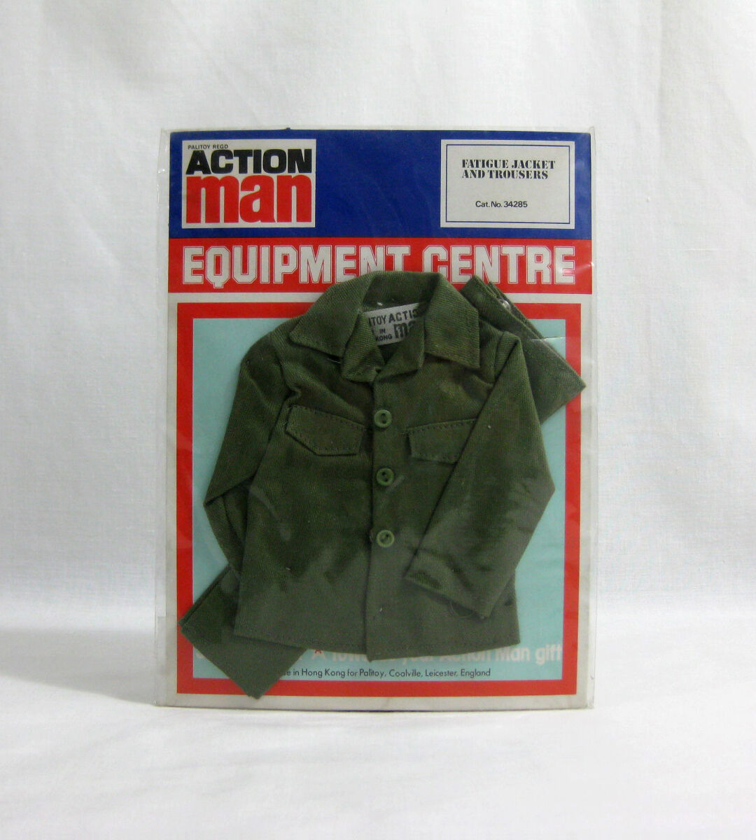 NEW 1970s Action Man ✧ Fatigues ✧ Vintage Equipment Centre MOC  2
