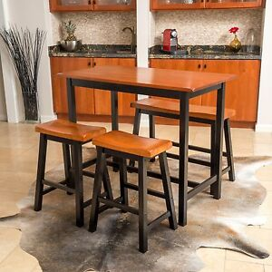 Lovely Image Is Loading Denise Austin Home Toluca 4 Piece Wood Dining