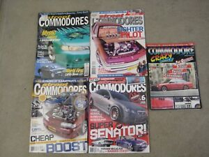 5 X  Commodore Magazines