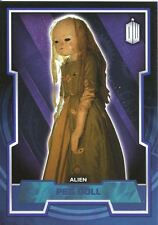 Doctor Who 2015 Blue Parallel [199] Base Card #89 Peg Doll