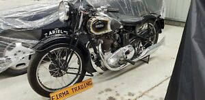1939 Ariel VG 500cc extremely rare by Firma Trading Classic Motorbikes Australia