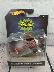 Hot Wheels Batman Classic Tv Series baticóptero