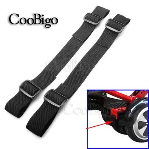 """2X Strong 1/"""" Hoverboard Kart Accessories HoverKart Replacement Straps Adjustable"""