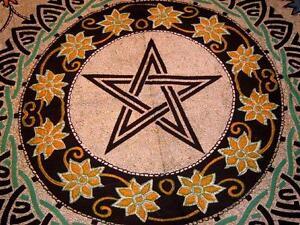 Celtic-Pentagram-Tapestry-72-034-x-90-034-Pentacle-Wicca-CTH60