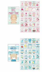 30-Baby-Girl-Boy-Memorable-Moments-Milestone-Cards-Photo-Props-Baby-Shower-Gift