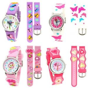 0890afb8c Boy Girls Gifts Children Watch Kids Watch Waterproof Silicone Quartz ...