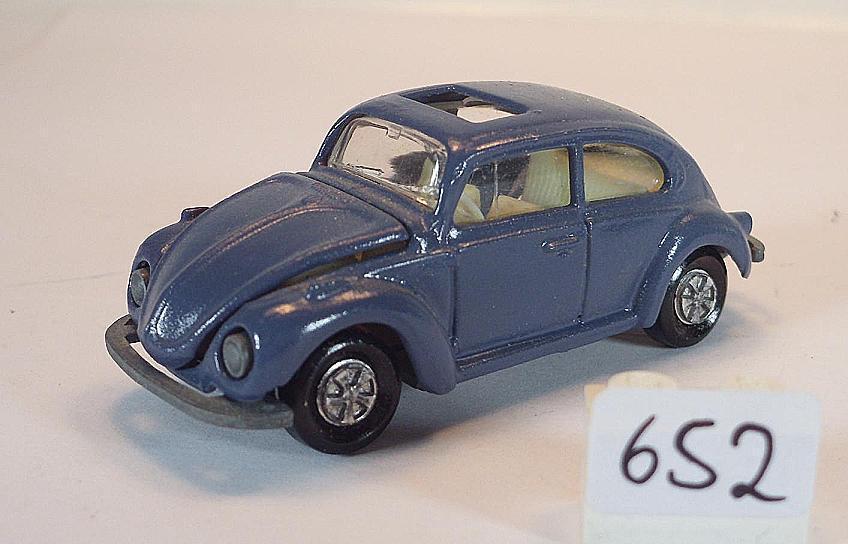 Majorette 1  60 Nr. 202 VW Volkswagen 1302 Limousine gråbnau
