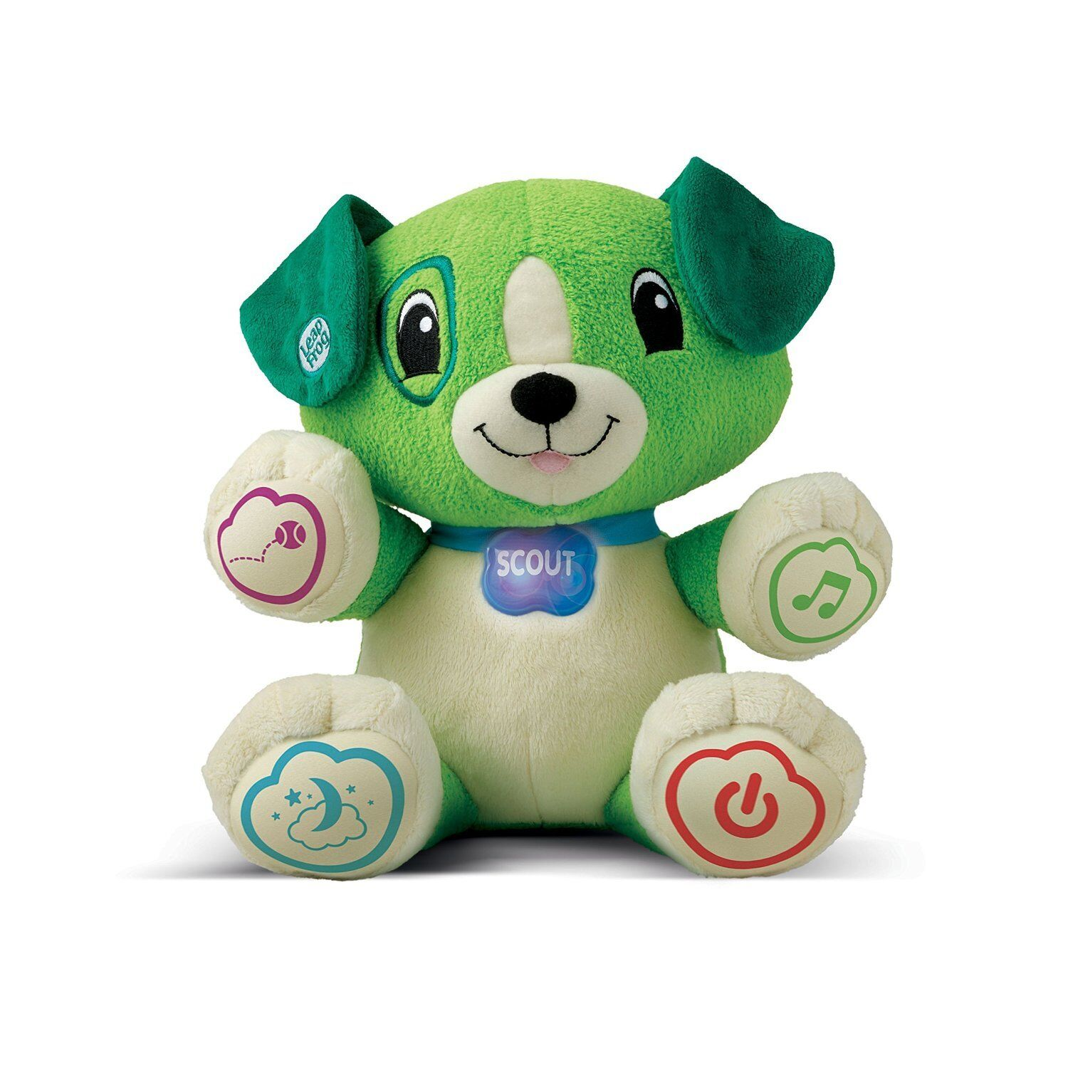 LeapFrog My Puppy Pal Scout Green UK Educational Interactive Toys British Voice