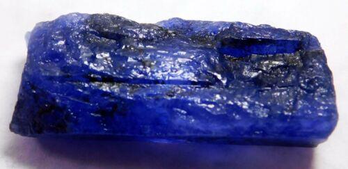 Natural Blue Translucent Tanzanite Loose Gemstone Mineral Rough 60.40Cts