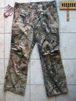 Cabelas Womens Hunting Hiking Camping Silent Weave Camo Pants 18 Xl Aphd $49