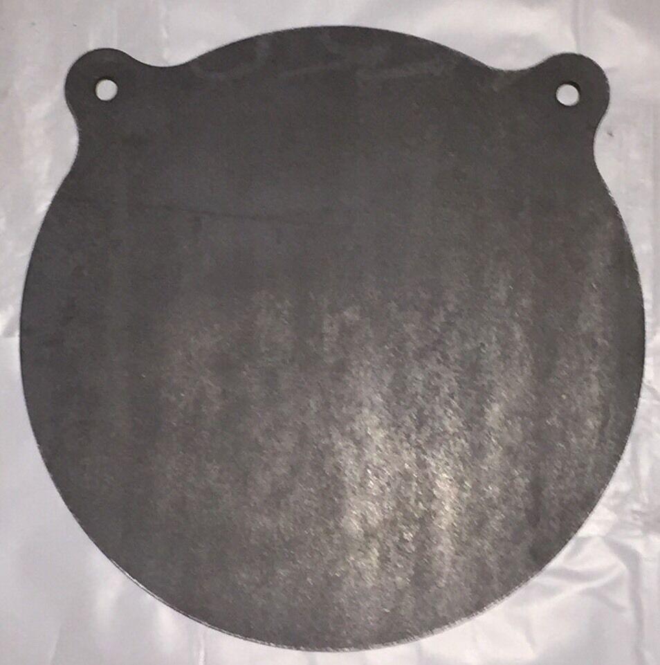 AR500 Steel X Target Gong 1/4