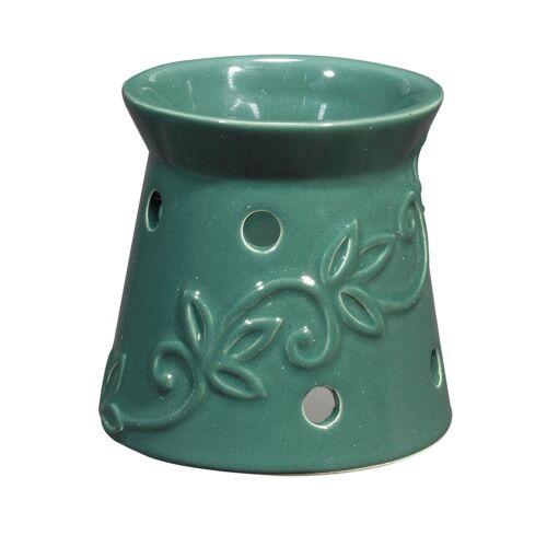 1 Vanilla Scented Disc Night Light Fragrance Warmer Green Design