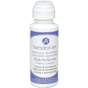 New-Hampton-Art-Rubber-Stamp-Cleaner-Conditioner-Rub-n-Scrub-Top-Non-toxic