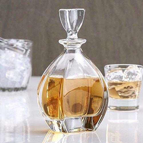 Old-Fashioned Laguna  7-Pc Whiskey Whiskey Whiskey Decanter Set, Lead Free 7fd8fb