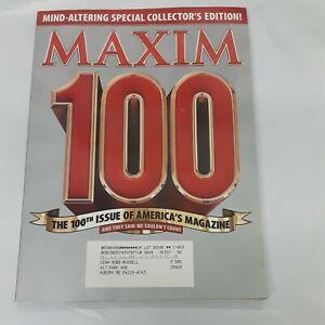 100th ISSUE Maxim Magaznie 4/06 Special Collectors Edition