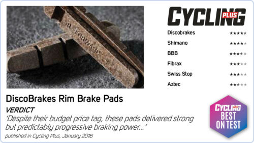 Chorus /& Centaur Alliage Cartouche road brake pads Campagnolo Old Record 53 mm