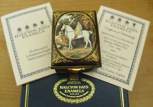 Boxed-Ltd-Ed-Halcyon-Days-034-Self-Portrait-on-a-Grey-Hunter-034-George-Stubbs-2-3-8-034