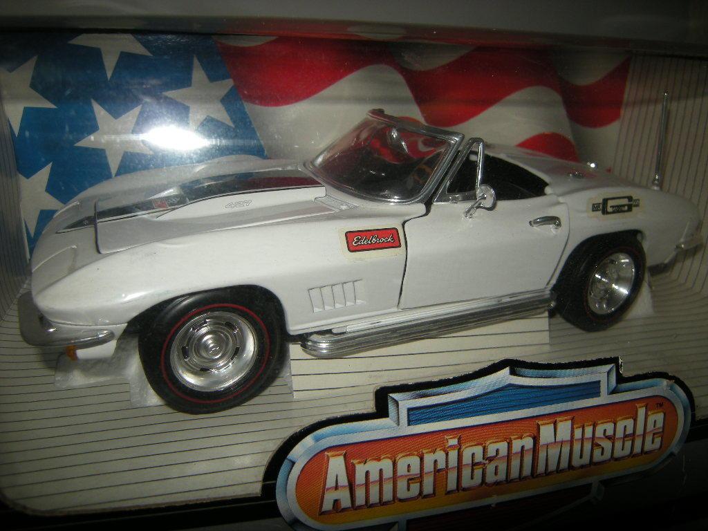 1:18 ertl ertl ertl american muscle CHEVROLET CORVETTE l-88 1967 Blanc /blanc en neuf dans sa boîte | Vente Chaude  | La Mode De  | Qualité Supérieure  0c7753
