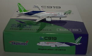 Skywing 083 Comac C919 Comac Commercial Aircraf B-001A Flight Test Livery 1:400