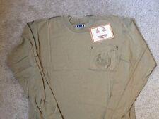 Harley Davidson Biker Blues  Long Sleeve front pocket Tan Shirt Nwt Men's Small