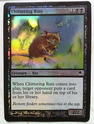 Chittering Rats Foil New MTG Darksteel Magic