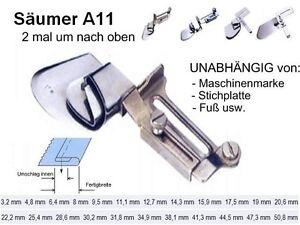 Säumer Saumapparat UNIVERSELL, geschlossener Saum 16 mm  #11