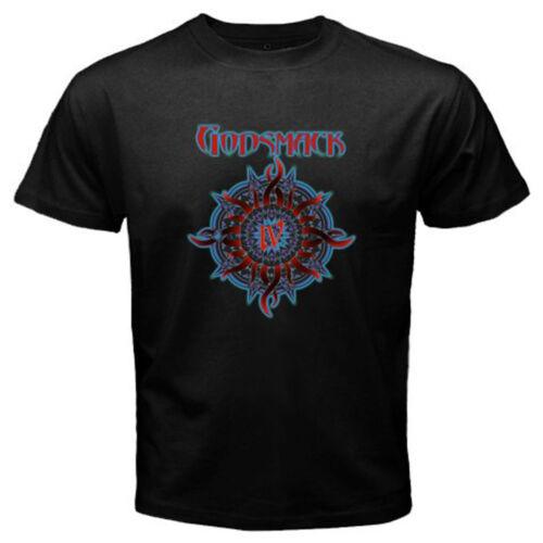 Nouveau Godsmack ROCK BAND Album Logo Hommes T-Shirt Noir Taille S M L XL 2XL 3XL