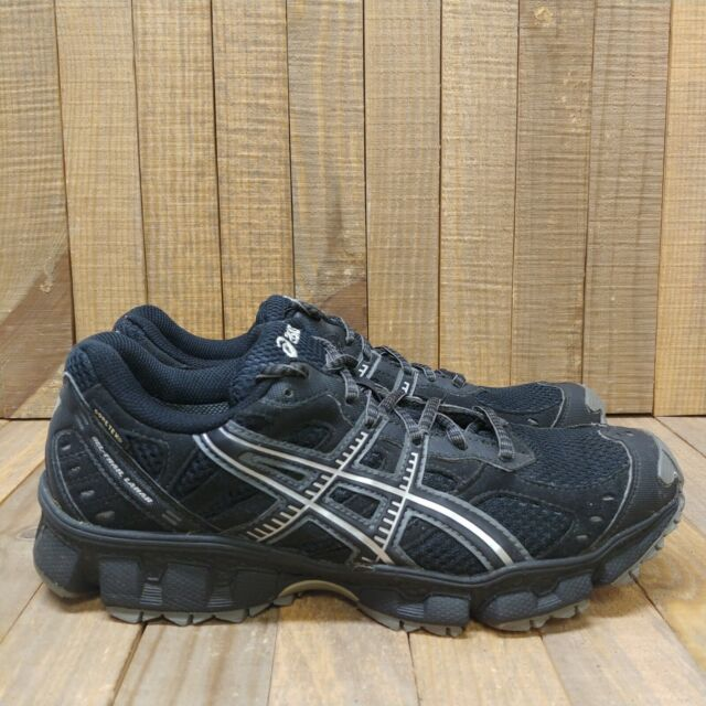 Asics Womens Gel Trail Lahar 3 Gore-Tex Running Shoes Sz 8.5 Black Sneaker  T1G6N