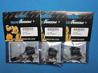3 Blue Arrow Cyclic Metal Gear Digital High Speed Servos 180cfx Edge 540qq 280