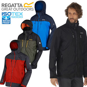 Regatta-Mens-Calderdale-II-Jacket-Waterproof-Breathable-Isotex-5000-Hooded-Coat