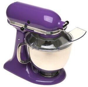 New-Kitchenaid-Artisan-5-Quart-Stand-Mixer-Ksm150psgp-Grape-Purple-Color
